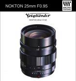 Voigtlander Nokton 25mm f/0.95 Lens