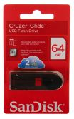 SANDISK CRUZER GLIDE 64GB USB FLASH BELLEK