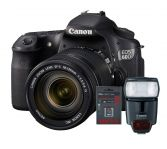 Canon EOS 60D Kit 18-135mm IS +  Canon 430ex Flash